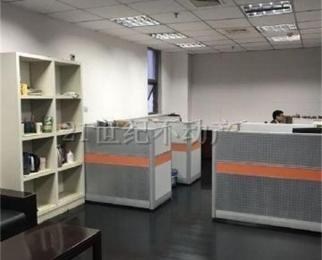 河西CBD 紫金西城中心 地铁口精装纯写字楼办公 142平层
