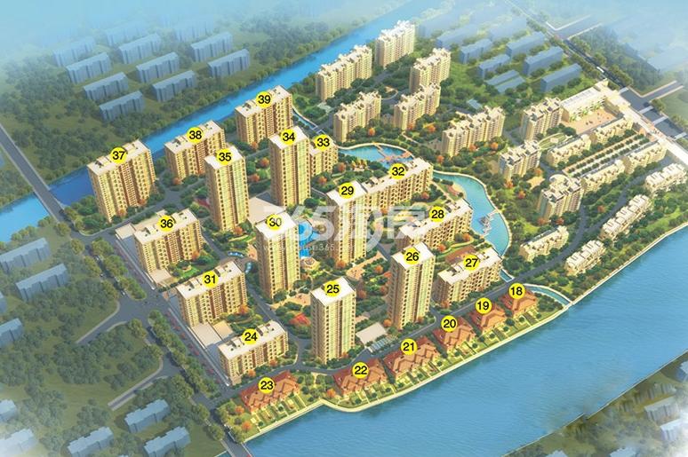 名港城效果图