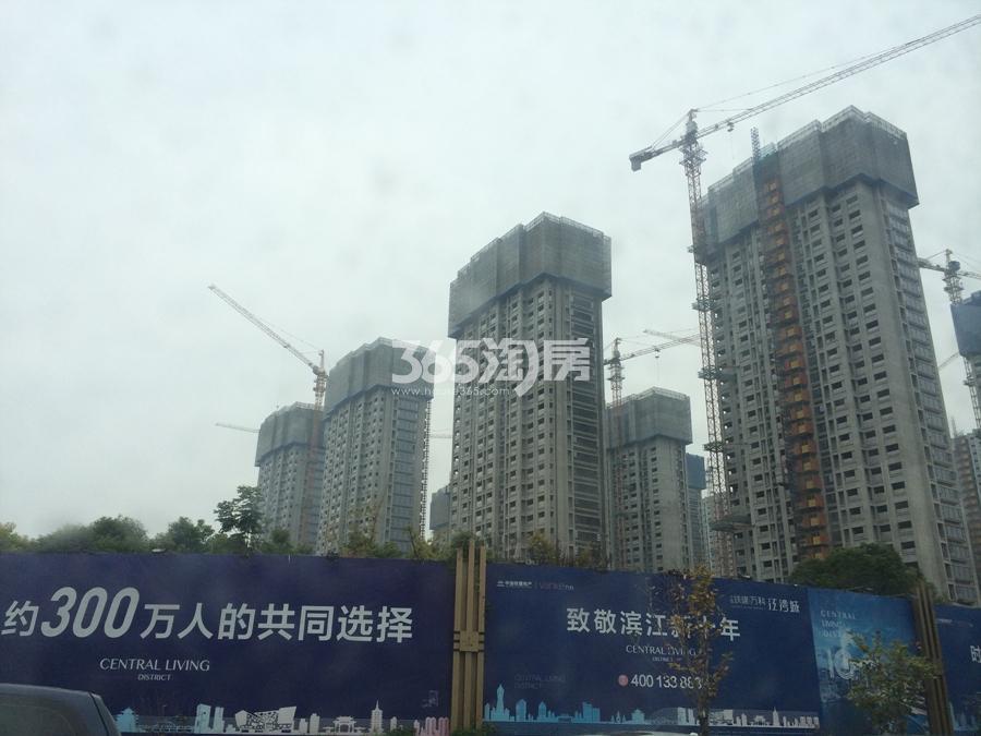 中国铁建万科江湾城实景图