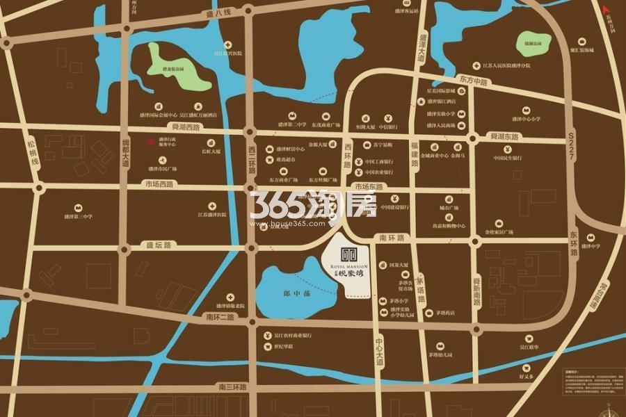正荣悦棠湾交通图