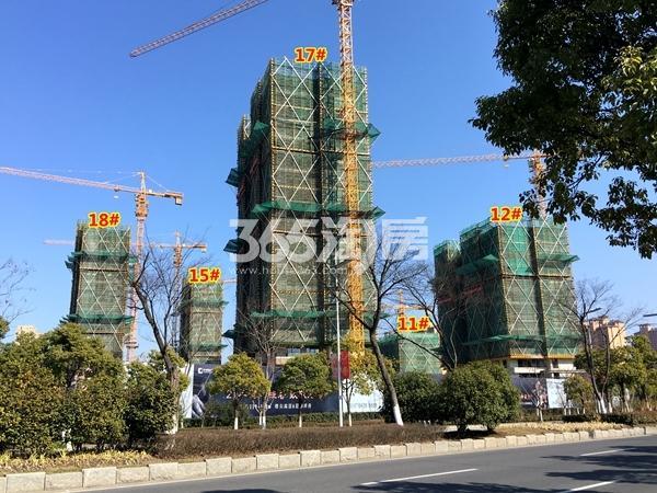 中锐星公元11#、12#、15、17#、18#楼工程进度实景(2018.3摄)