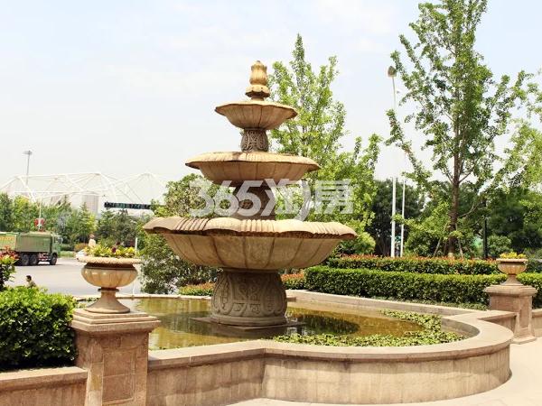 绿城桂语江南实景图