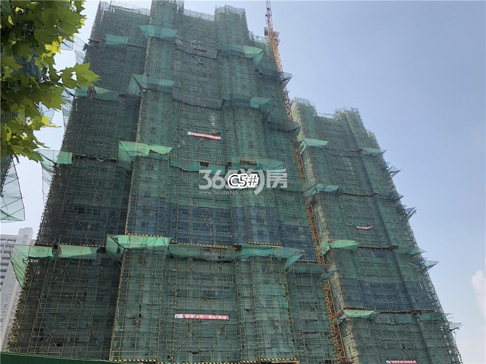 华润国际社区C5号楼实景图(7.26)