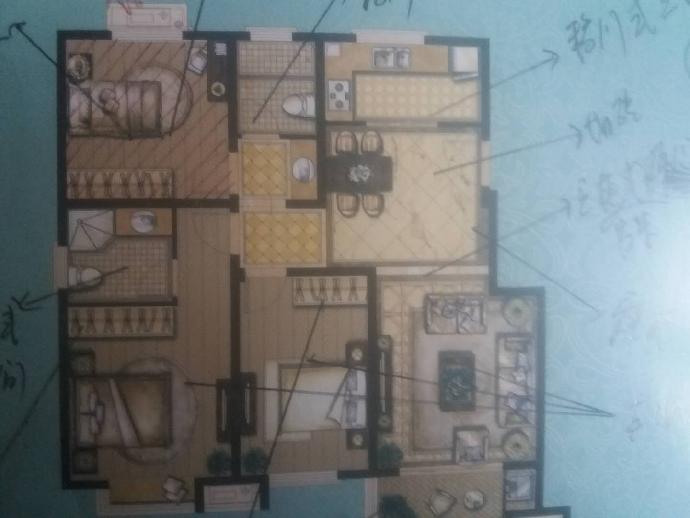 创维乐活城4室2厅2卫127平米2018年产权房毛坯