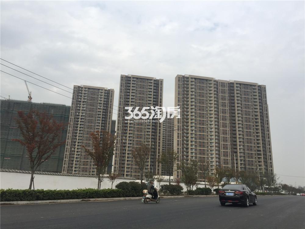 华润国际社区实景图(2016.12.19)