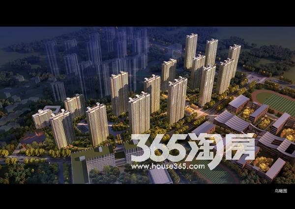 启迪科技城水木园鸟瞰图