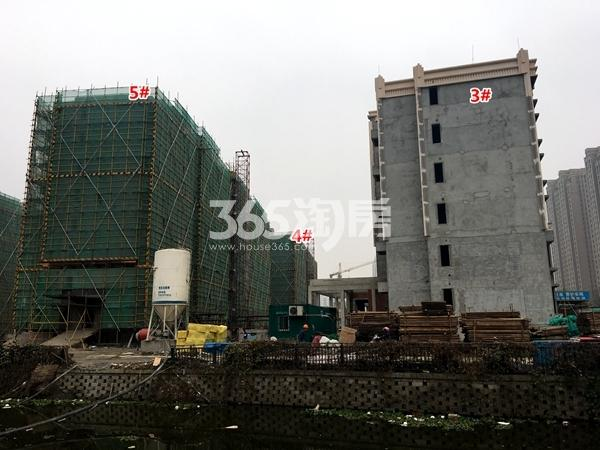 苏宁悦城四期3#、4#、5#楼洋房工程实景(2017.11摄)