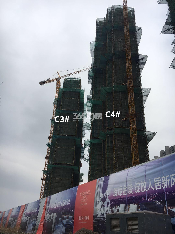 华润国际社区C3、C4#实景图(4.23)