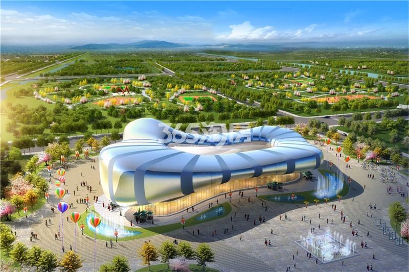 西安恒大文化旅游城效果图