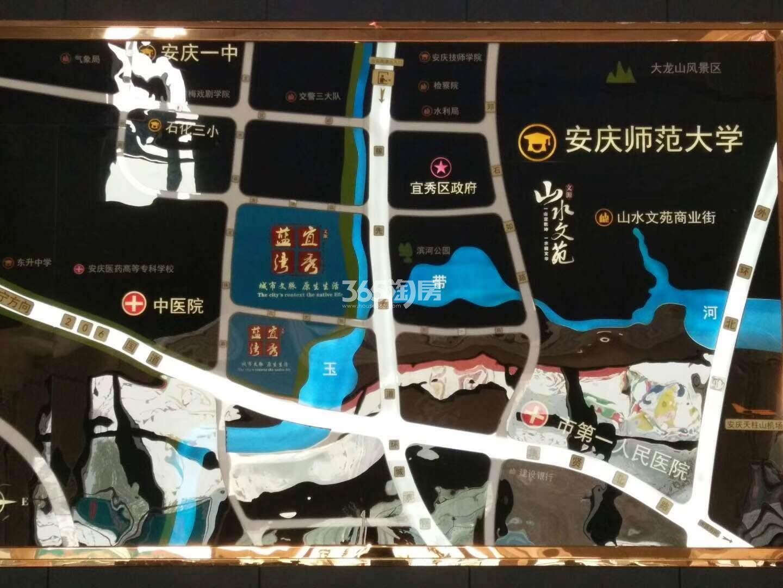 宜秀蓝湾交通图