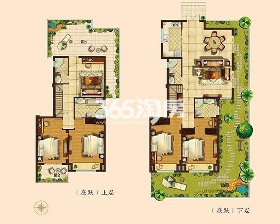 186平方米墅级洋房四房两厅四卫