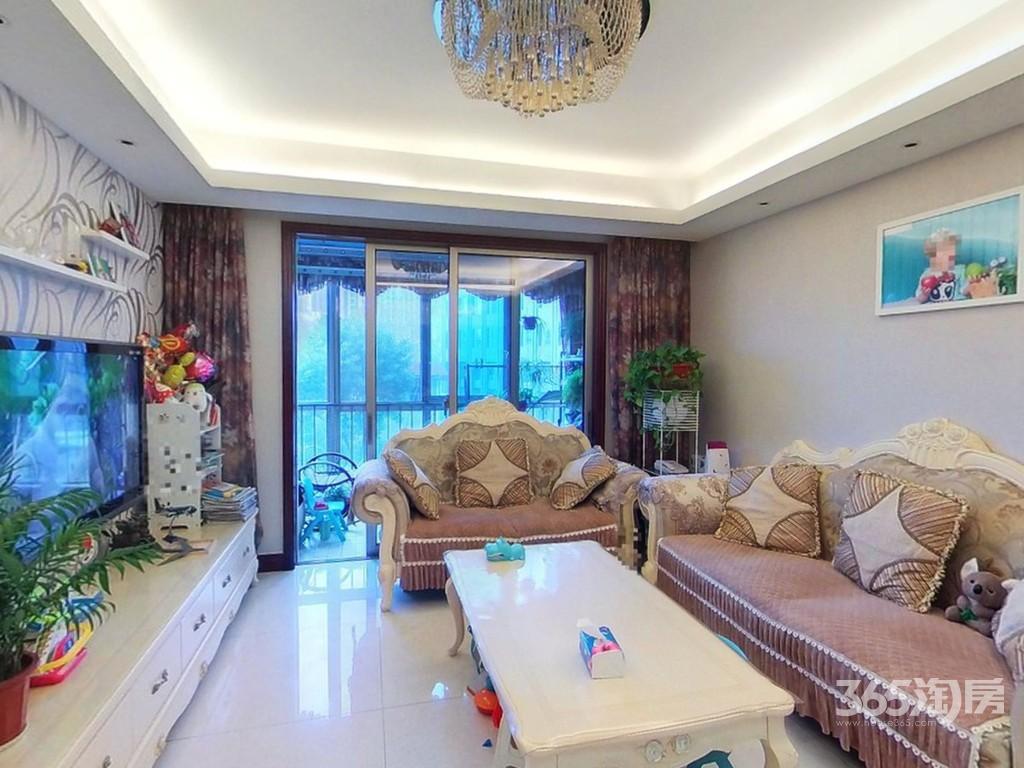 长江峰景115平方江景三房豪华装家具家电送急售
